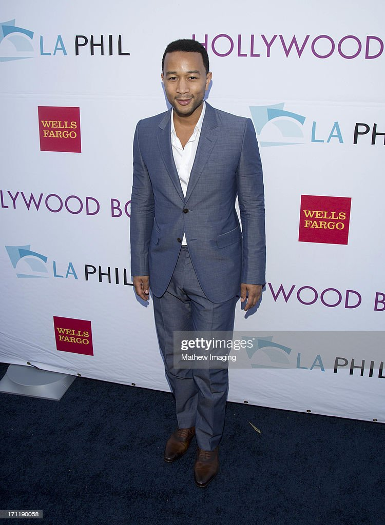Recording artist John Legend attends Hollywood Bowl Opening Night Gala - Arrivals at The Hollywood Bowl on June 22, 2013 in Los Angeles, California.