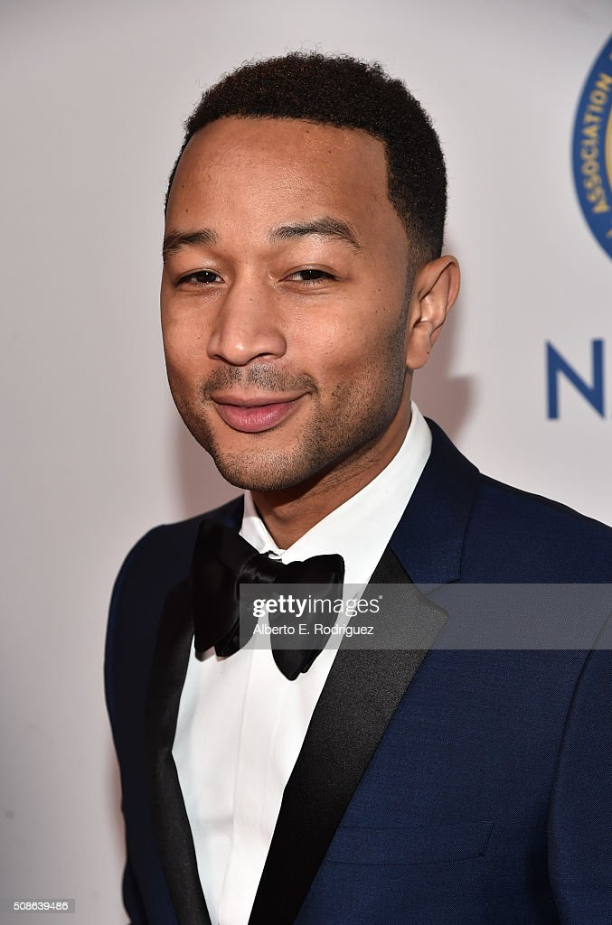 Recording artist John Legend attends the 47th NAACP Image Awards presented by TV One at Pasadena Civic Auditorium on February 5 2016 in Pasadena...