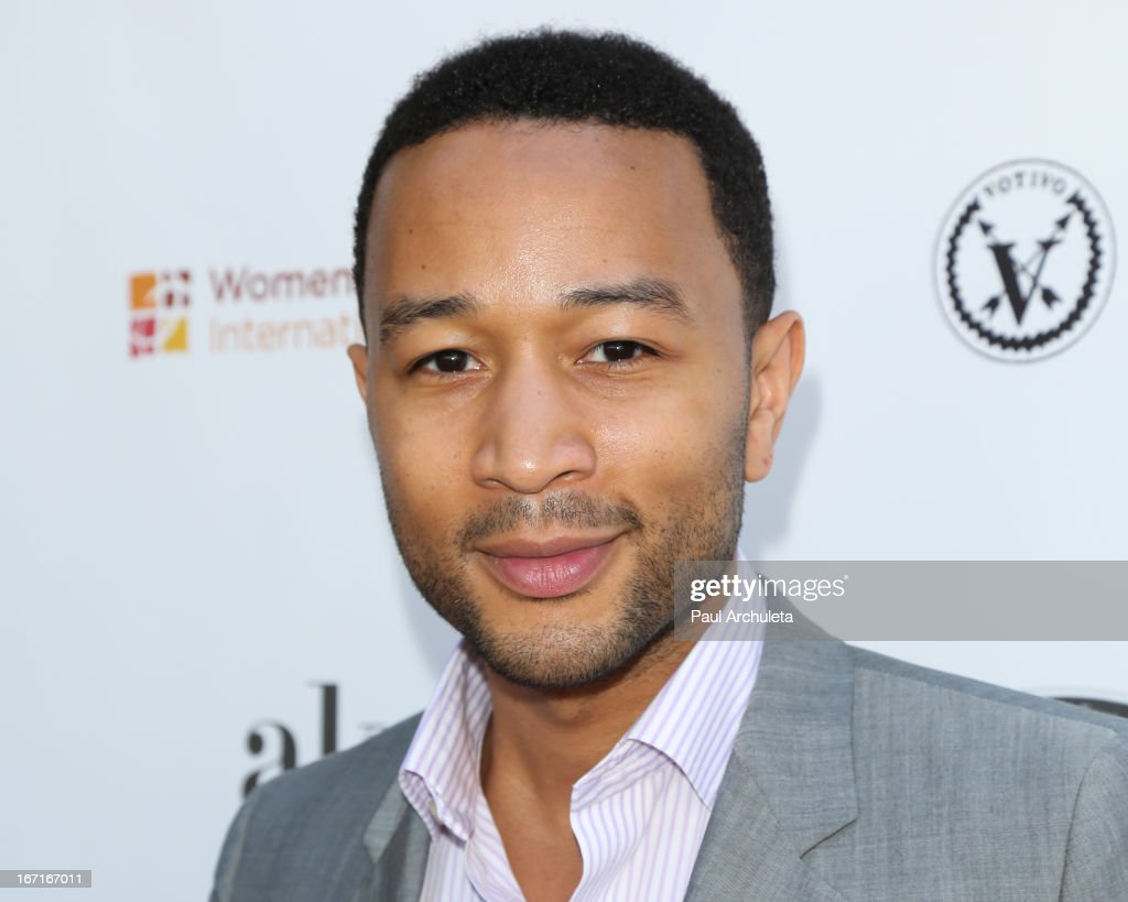 Recording Artist <a gi-track='captionPersonalityLinkClicked' href=/galleries/search?phrase=John+Legend&family=editorial&specificpeople=201468 ng-click='$event.stopPropagation()'>John Legend</a> attends the 'Spring To Make A Difference' fundraiser event on April 21, 2013 in Beverly Hills, California.