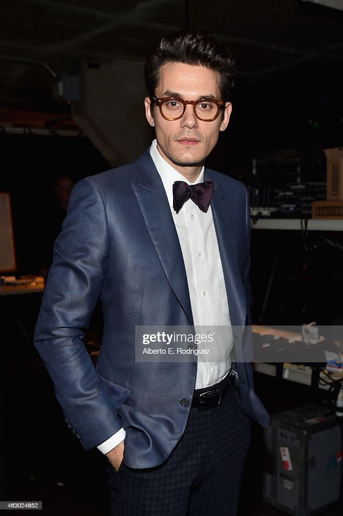 Recording artist <a gi-track='captionPersonalityLinkClicked' href=/galleries/search?phrase=John+Mayer&family=editorial&specificpeople=201930 ng-click='$event.stopPropagation()'>John Mayer</a> attends The 57th Annual GRAMMY Awards at STAPLES Center on February 8, 2015 in Los Angeles, California.