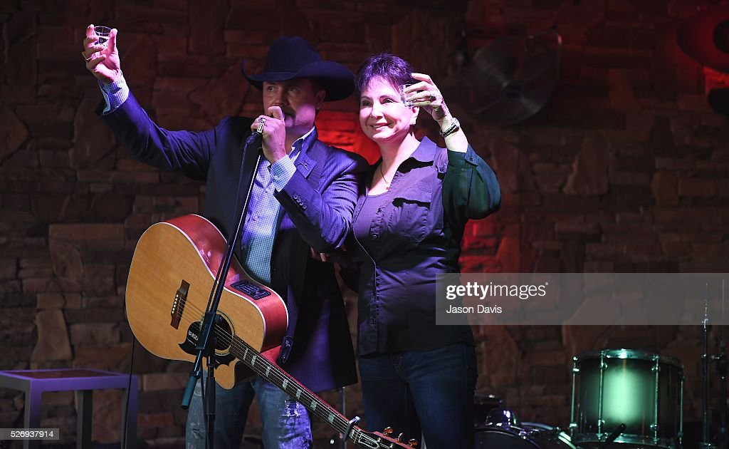 Recording Artist John Rich and Nancy Jones, wife of the late George Jones toast at the George Jones Museum to celebrate top fundraising St. Jude Heroes for the 17th annual St. Jude Rock 'n' Roll Nashville Marathon on May 1, 2016 in Nashville, Tennessee.