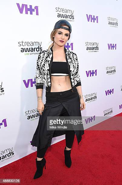 Recording artist JoJo attends VH1's 5th Annual Streamy Awards at the Hollywood Palladium on Thursday September 17 2015 in Los Angeles California