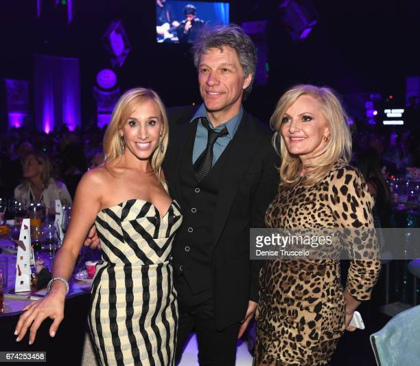 frontman Jon Bon Jovi of Bon Jovi attends the 21st annual Keep Memory Alive 'Power of Love Gala' benefit for the Cleveland Clinic Lou Ruvo Center for...