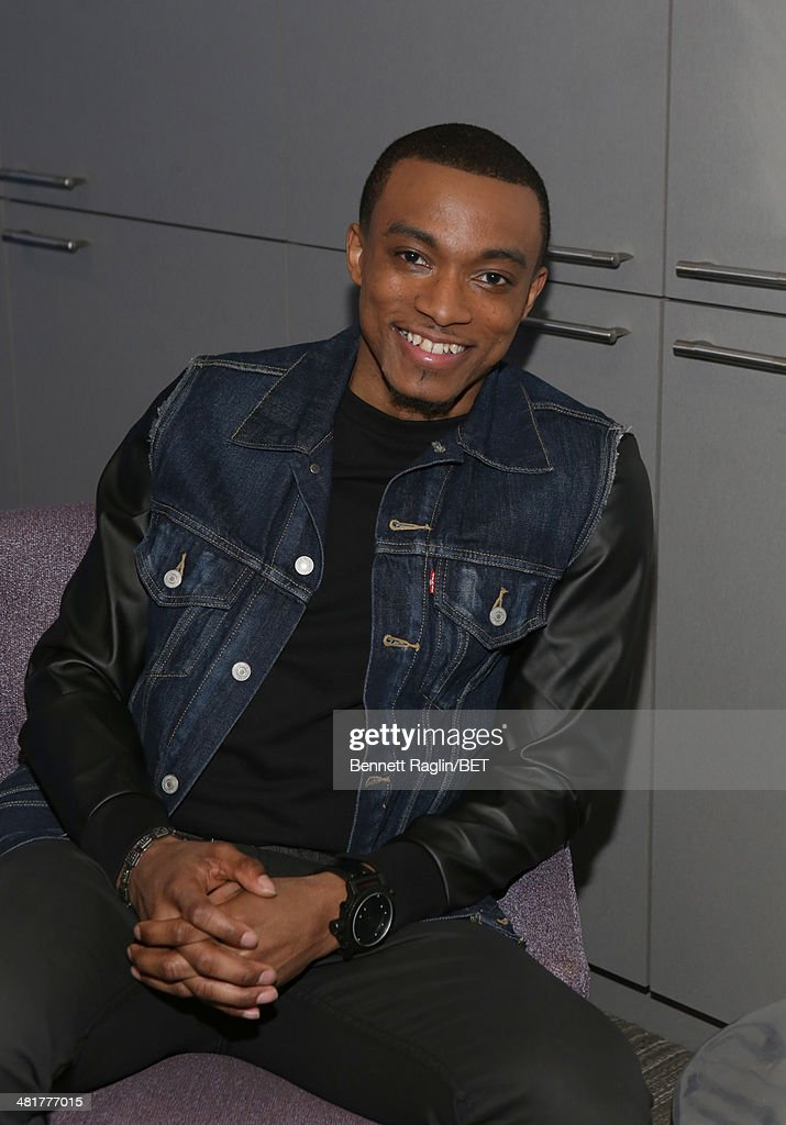 Recording artist Jonathan McReynolds visits 106 & Park at BET studio on March 31, 2014 in New York City.