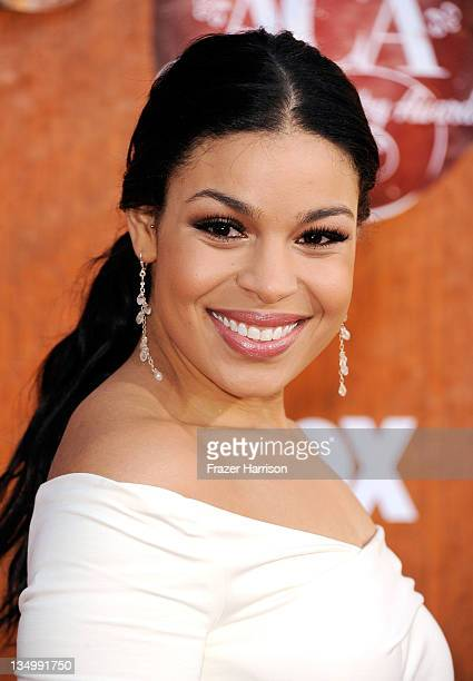 Recording artist Jordin Sparks arrives at the American Country Awards 2011 at the MGM Grand Garden Arena on December 5 2011 in Las Vegas Nevada