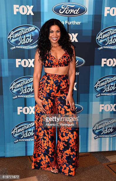 Recording artist Jordin Sparks attends FOX's 'American Idol' Finale For The Farewell Season at Dolby Theatre on April 7 2016 in Hollywood California