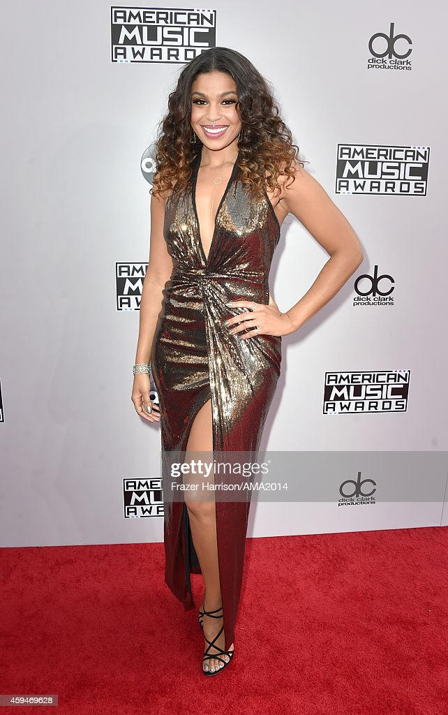 Recording artist Jordin Sparks attends the 2014 American Music Awards at Nokia Theatre LA Live on November 23 2014 in Los Angeles California