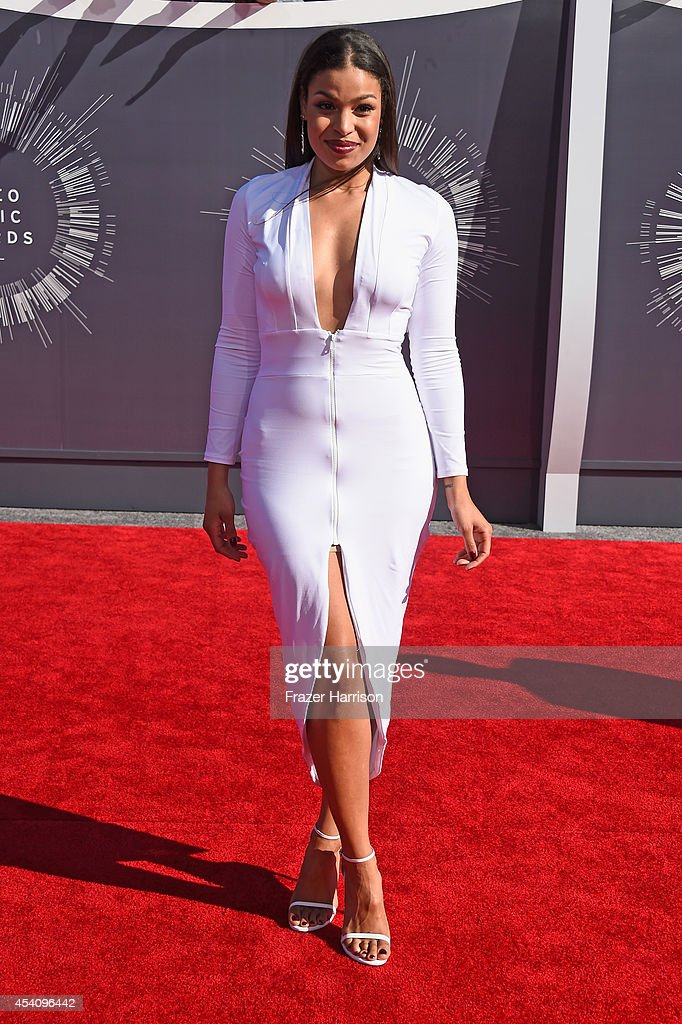 Recording artist Jordin Sparks attends the 2014 MTV Video Music Awards at The Forum on August 24 2014 in Inglewood California