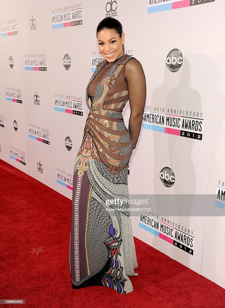 Recording artist Jordin Sparks attends the 40th American Music Awards held at Nokia Theatre L.A. Live on November 18, 2012 in Los Angeles, California.