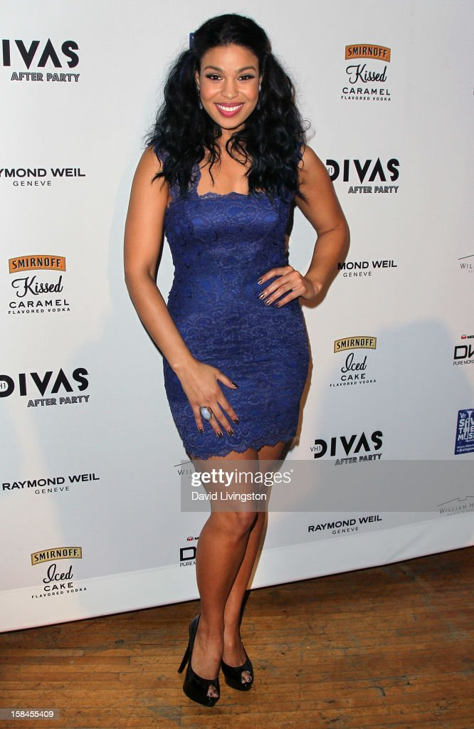 Recording artist <a gi-track='captionPersonalityLinkClicked' href=/galleries/search?phrase=Jordin+Sparks&family=editorial&specificpeople=4165535 ng-click='$event.stopPropagation()'>Jordin Sparks</a> attends the VH1 Divas After Party to benefit the VH1 Save The Music Foundation at the Shrine Expo Hall on December 16, 2012 in Los Angeles, California.