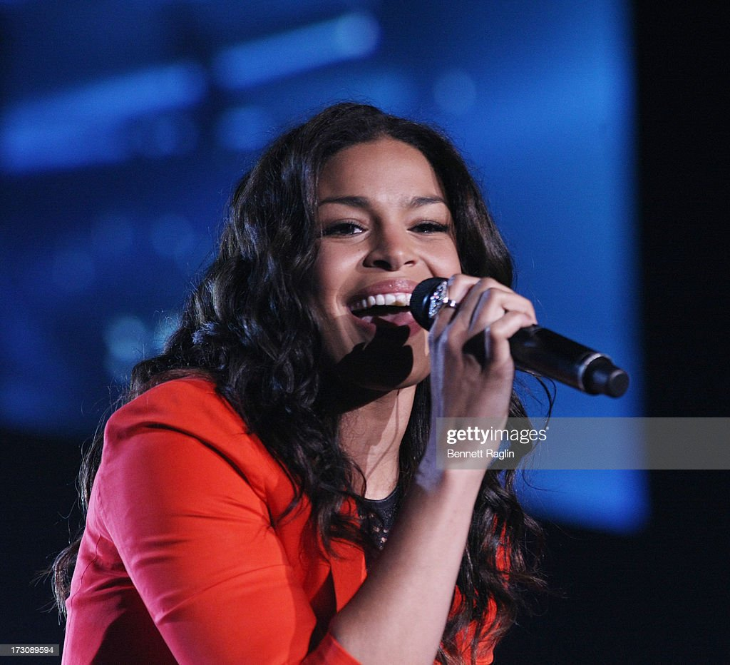 Recording artist <a gi-track='captionPersonalityLinkClicked' href=/galleries/search?phrase=Jordin+Sparks&family=editorial&specificpeople=4165535 ng-click='$event.stopPropagation()'>Jordin Sparks</a> performs during the 2013 365 Black Awards at the Ernest N. Morial Convention Center on July 6, 2013 in New Orleans, Louisiana.