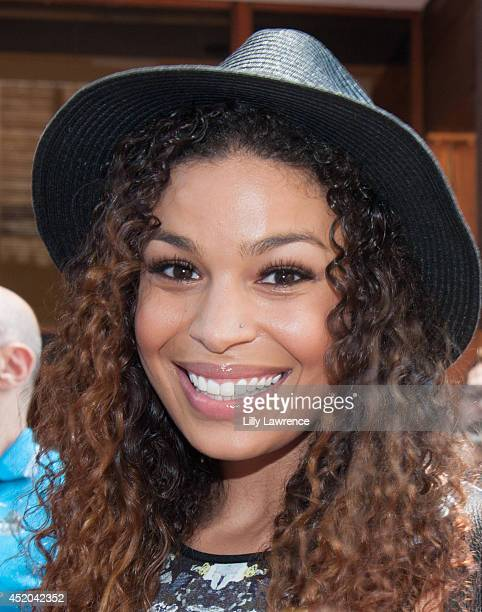 Recording artist Jordin Sparks poses for a portrait at Warner Bros Records 'Summer Sessions' With Lianne La Havas at Warner Bros Records Boutique...