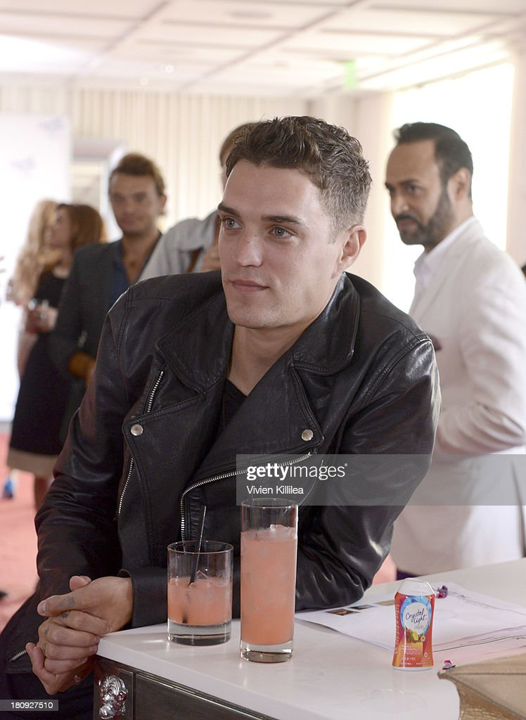 Recording artist Josh Beech attends the Entertainment Tonight And Crystal Light Pre-Emmy Party at SLS Hotel on September 17, 2013 in Beverly Hills, California.