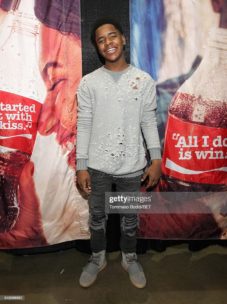 Recording artist Jovanie attends the Coke music studio during the 2016 BET Experience on June 25, 2016 in Los Angeles, California.