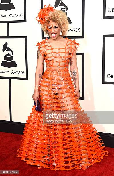 Recording artist Joy Villa attends The 57th Annual GRAMMY Awards at the STAPLES Center on February 8 2015 in Los Angeles California
