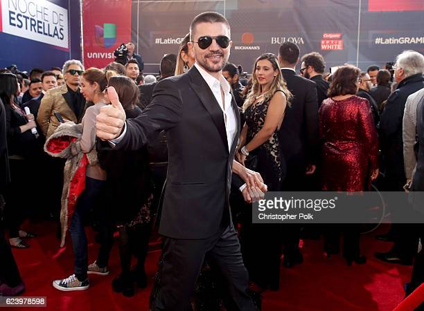 Recording artist Juanes attends The 17th Annual Latin Grammy Awards at TMobile Arena on November 17 2016 in Las Vegas Nevada