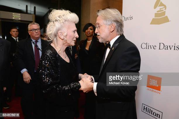 Recording artist Judy Collins and President/CEO of The Recording Academy and GRAMMY Foundation President/CEO Neil Portnow attend PreGRAMMY Gala and...