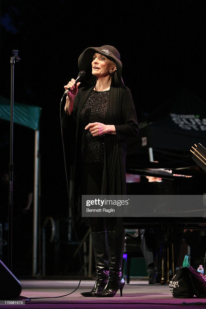 Recording artist <a gi-track='captionPersonalityLinkClicked' href=/galleries/search?phrase=Judy+Collins&family=editorial&specificpeople=208225 ng-click='$event.stopPropagation()'>Judy Collins</a> performs during the 2013 City Parks Foundation's SummerStage Gala at Central Park SummerStage on June 11, 2013 in New York City.