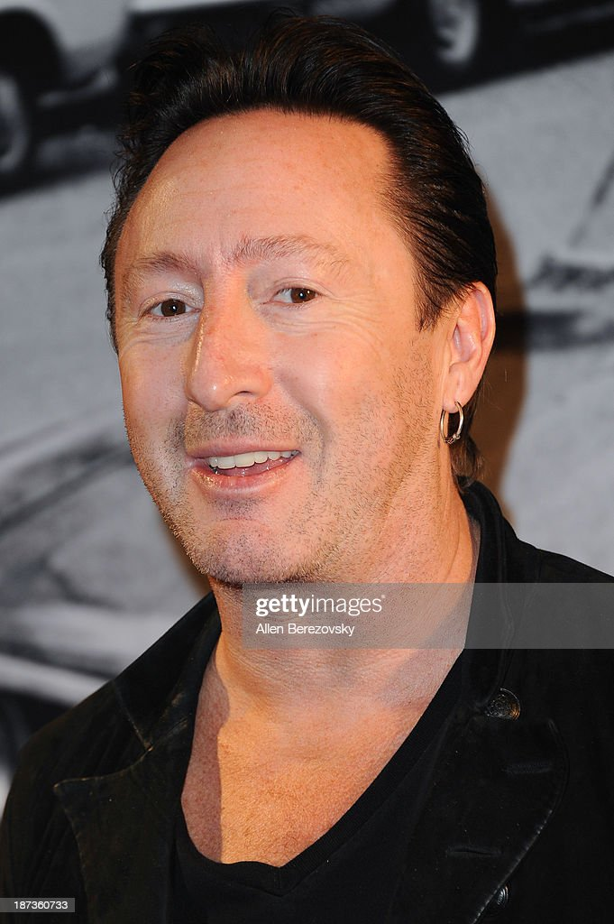 Recording artist <a gi-track='captionPersonalityLinkClicked' href=/galleries/search?phrase=Julian+Lennon&family=editorial&specificpeople=211480 ng-click='$event.stopPropagation()'>Julian Lennon</a> attends the John Varvatos' new book 'John Varvatos: Rock In Fashion' launch party at John Varvatos Los Angeles on November 7, 2013 in Los Angeles, California.