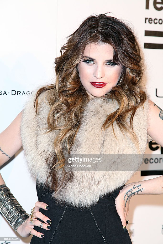 Recording artist Juliet Simms arrives to the Republic Records post GRAMMY party at the Emerson Theatre on February 10, 2013 in Hollywood, California.