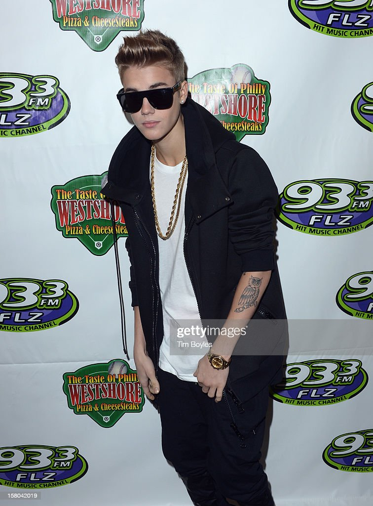 Recording Artist Justin Bieber attends 93.3 FLZ's Jingle Ball 2012 at Tampa Bay Times Forum on December 9, 2012 in Tampa, Florida.