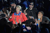 Recording artist Justin Bieber performs onstage at the iHeartRadio Music Awards which broadcasted live on TBS TNT AND TRUTV from The Forum on April 3...