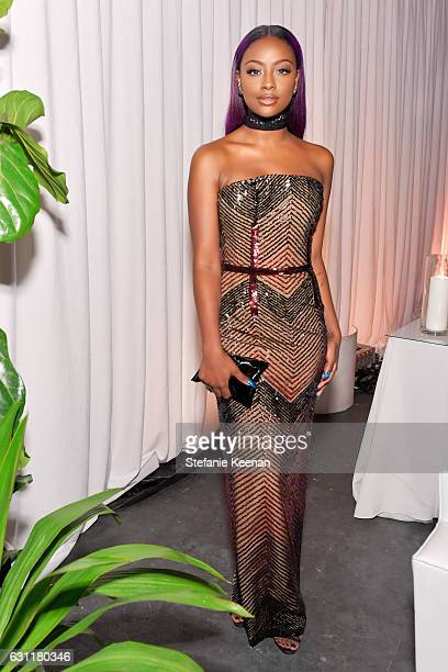 Recording artist Justine Skye attends The Art of Elysium presents Stevie Wonder's HEAVEN Celebrating the 10th Anniversary at Red Studios on January 7...