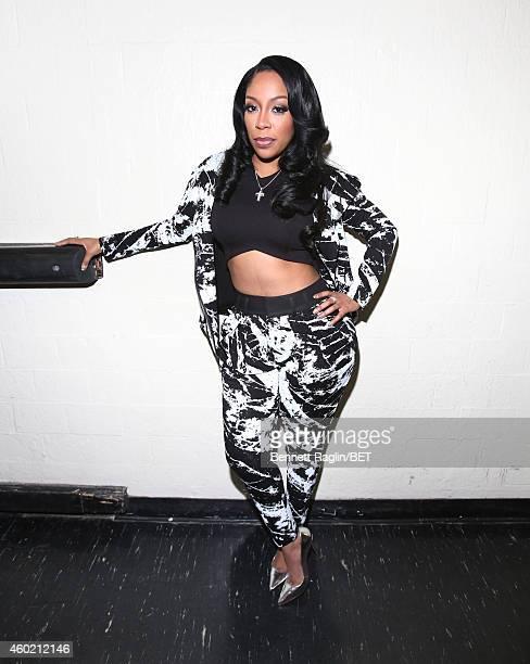 Recording artist K Michelle attends 106 Park at BET studio on December 8 2014 in New York City