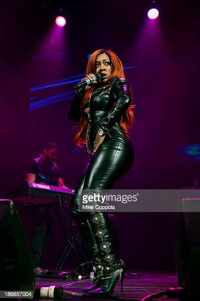 Recording artist K Michelle performs onstage at Power 1051's Powerhouse 2013 presented by Play GIGIT at Barclays Center on November 2 2013 in New...