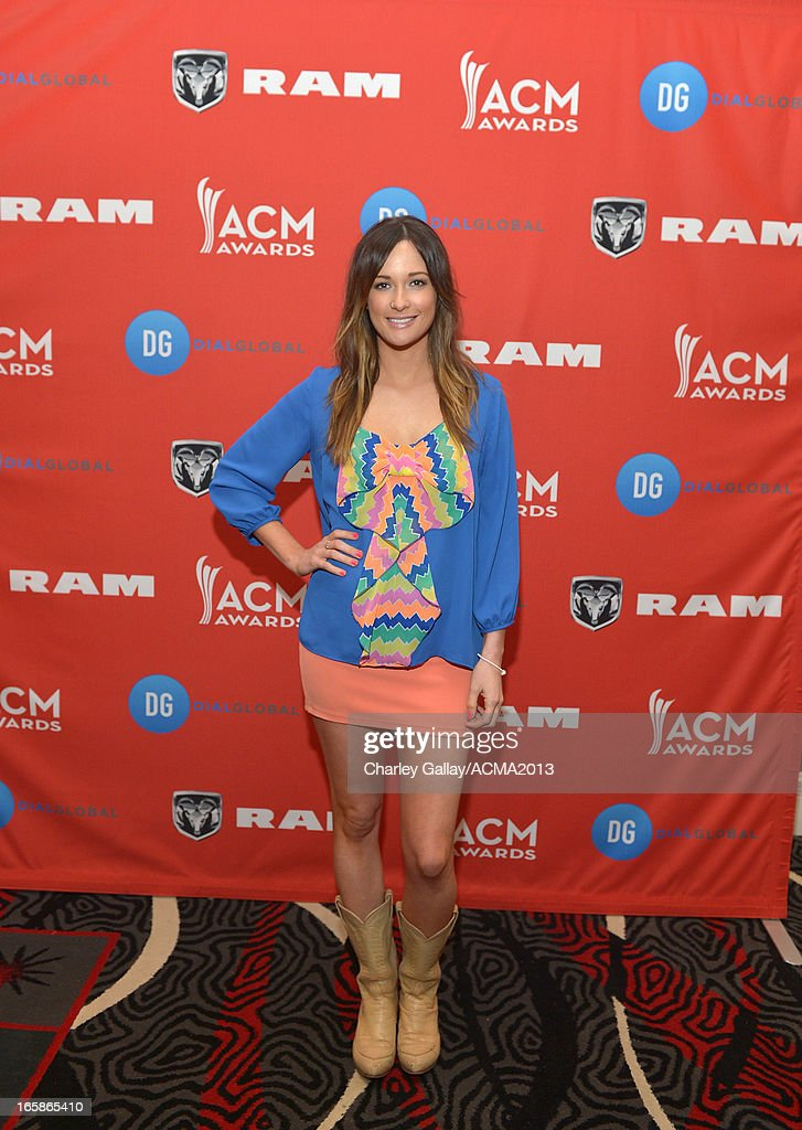 Recording artist Kacey Musgraves attends the Dial Global Radio Remotes during the 48th Annual Academy of Country Music Awards at MGM Grand Garden Arena on April 6, 2013 in Las Vegas, Nevada.