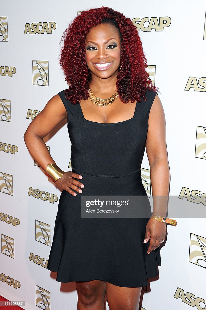 Recording artist <a gi-track='captionPersonalityLinkClicked' href=/galleries/search?phrase=Kandi+Burruss&family=editorial&specificpeople=4401257 ng-click='$event.stopPropagation()'>Kandi Burruss</a> arrives at ASCAP's 26th Annual Rhythm & Soul Music Awards at The Beverly Hilton Hotel on June 27, 2013 in Beverly Hills, California.