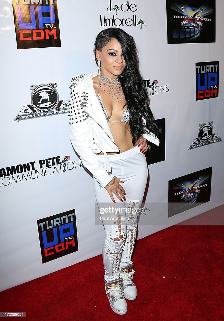 Recording Artist Karma attends the 'Party After' the 2013 BET Awards hosted by Chris Brown and Nick Cannon at The Belasco Theater on June 30, 2013 in Los Angeles, California.