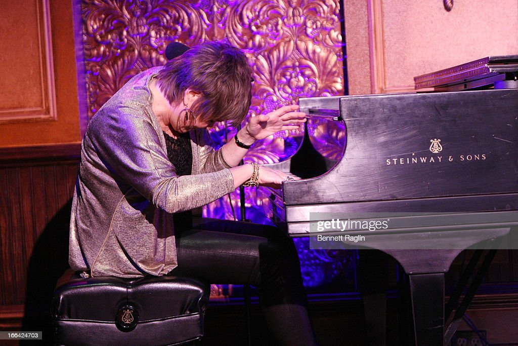 Recording artist Karrin Allyson performs during the Press Preview at 54 Below on April 12, 2013 in New York City.