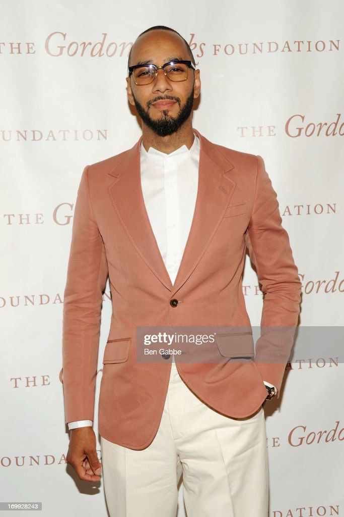 Recording Artist Kasseem '<a gi-track='captionPersonalityLinkClicked' href=/galleries/search?phrase=Swizz+Beatz&family=editorial&specificpeople=567154 ng-click='$event.stopPropagation()'>Swizz Beatz</a>' Dean attends 2013 Gordon Parks Foundation Awards at The Plaza Hotel on June 4, 2013 in New York City.