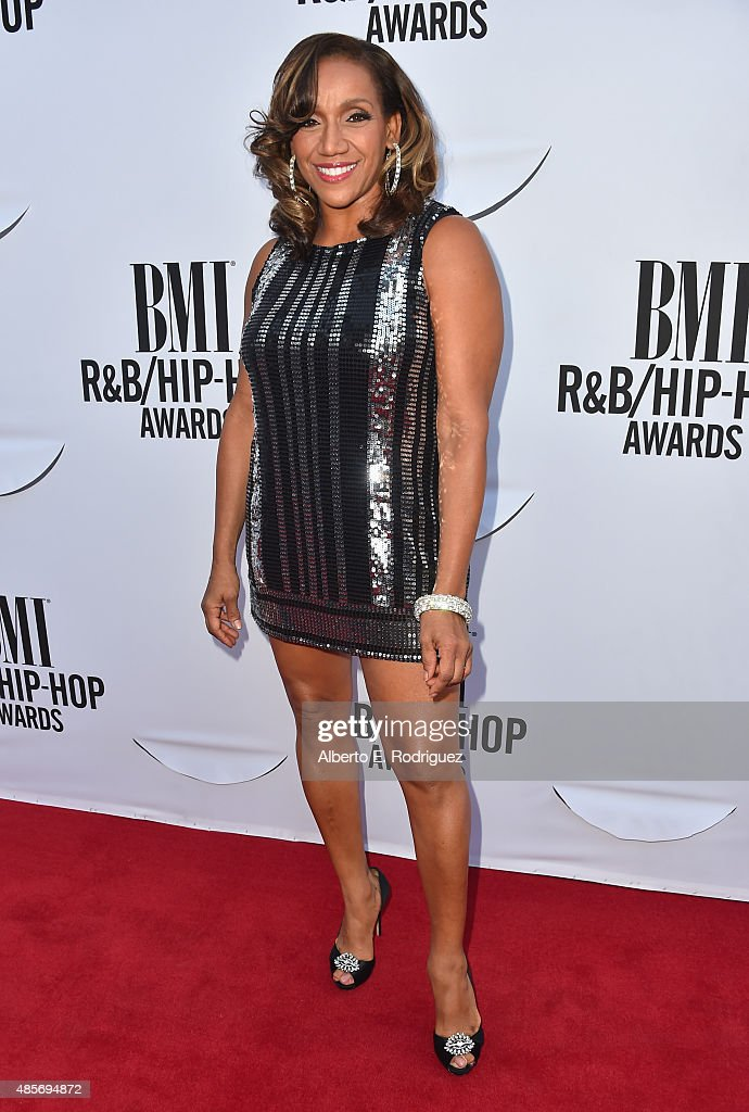 Recording artist Kathy Sledge attends the 2015 BMI R&B/Hip Hop Awards at Saban Theatre on August 28, 2015 in Beverly Hills, California.