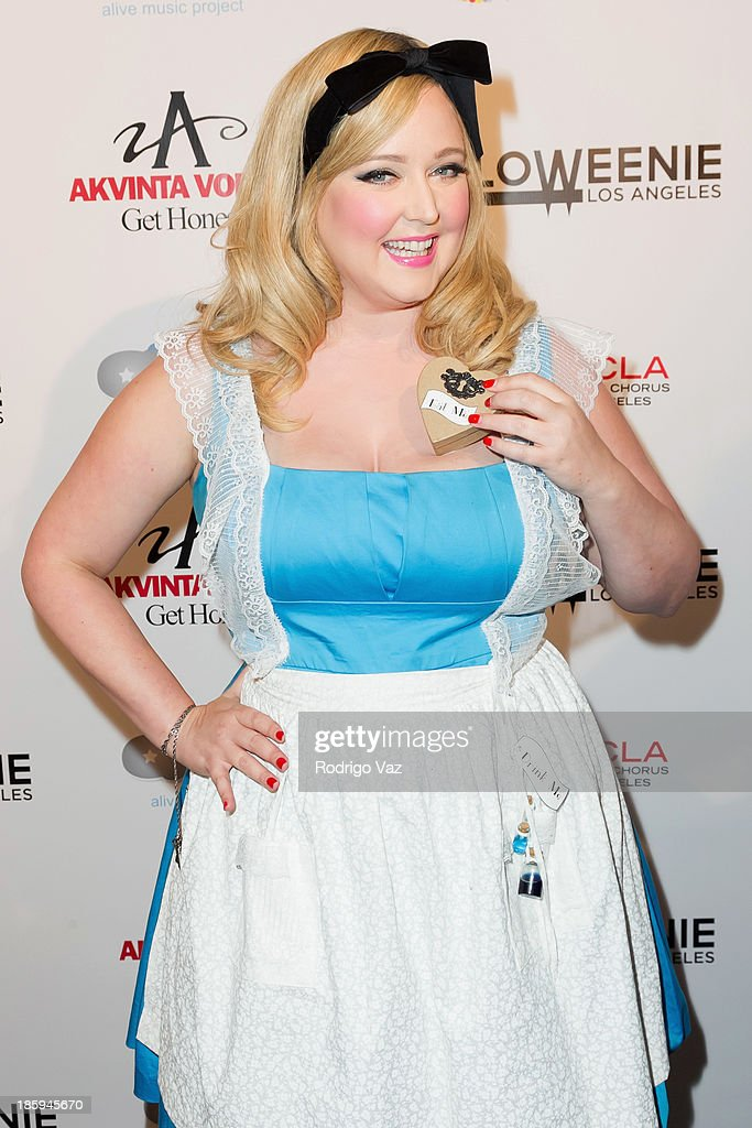 Recording artist Katrina Parker attends Fred and Jason's 8th Annual 'Halloweenie' Holiday Concert By The Gay Men's Chorus of Los Angeles at Los Angeles Theatre on October 25, 2013 in Los Angeles, California.
