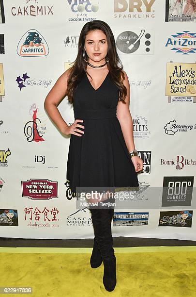 Recording artist Katrina Stuart arrives at 2016 Star For A Night on November 12 2016 in Los Angeles California
