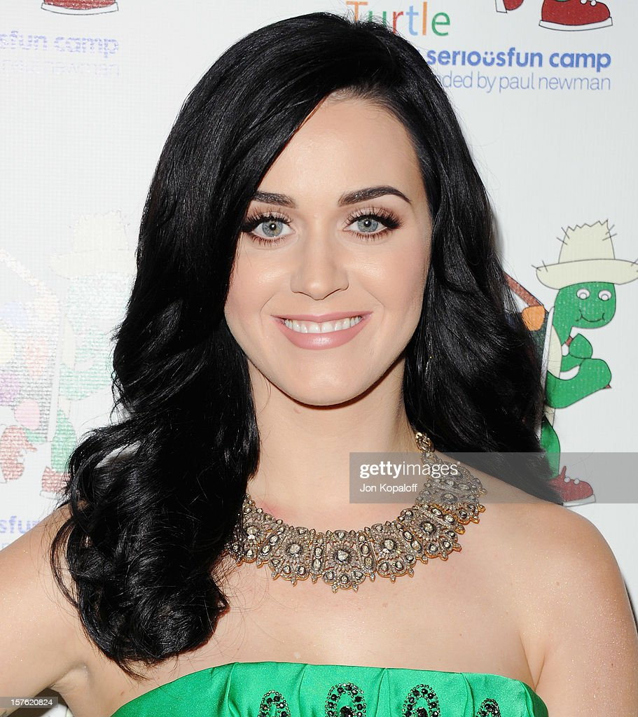 Recording artist <a gi-track='captionPersonalityLinkClicked' href=/galleries/search?phrase=Katy+Perry&family=editorial&specificpeople=599558 ng-click='$event.stopPropagation()'>Katy Perry</a> arrives at A Celebration Of Carole King And Her Music To Benefit Paul Newman's The Painted Turtle Camp at Dolby Theatre on December 4, 2012 in Hollywood, California.