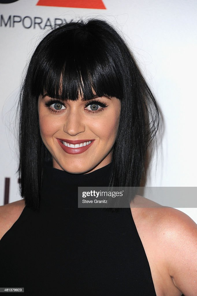Recording artist <a gi-track='captionPersonalityLinkClicked' href=/galleries/search?phrase=Katy+Perry&family=editorial&specificpeople=599558 ng-click='$event.stopPropagation()'>Katy Perry</a> attends MOCA 35th Anniversary Gala Celebration at The Geffen Contemporary at MOCA on March 29, 2014 in Los Angeles, California.