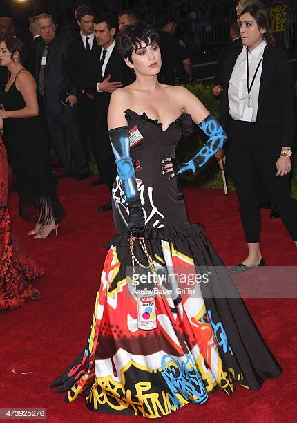 Recording artist Katy Perry attends the 'China Through The Looking Glass' Costume Institute Benefit Gala at the Metropolitan Museum of Art on May 4...