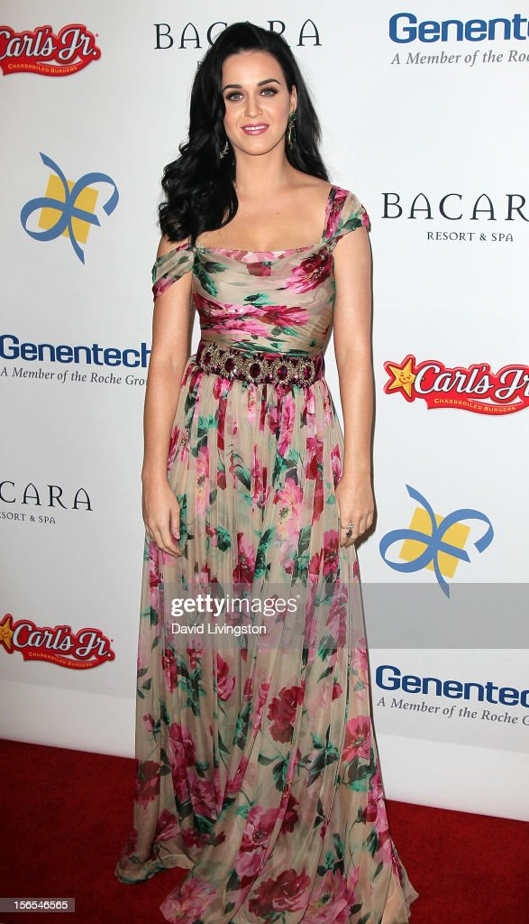 Recording artist <a gi-track='captionPersonalityLinkClicked' href=/galleries/search?phrase=Katy+Perry&family=editorial&specificpeople=599558 ng-click='$event.stopPropagation()'>Katy Perry</a> attends the Dream Foundation's 11th Annual Celebration of Dreams at Bacara Resport and Spa on November 16, 2012 in Santa Barbara, California. Dream Foundation is a national organization that serves the final wishes of adults - and their families - facing life-threatening illness.