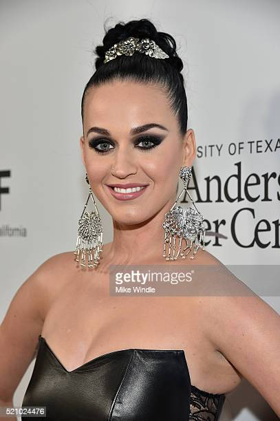 Recording artist Katy Perry attends the launch of the Parker Institute for Cancer Immunotherapy an unprecedented collaboration between the country's...