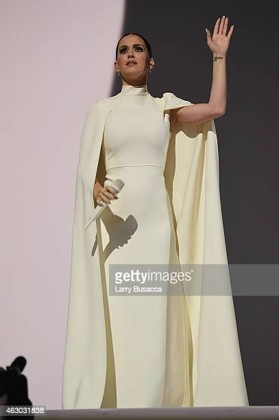 Recording Artist Katy Perry onstage during The 57th Annual GRAMMY Awards at the STAPLES Center on February 8 2015 in Los Angeles California