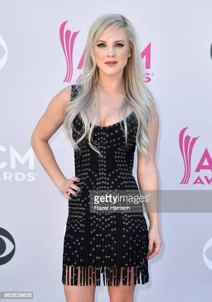 Recording artist Kayla Adams attends the 52nd Academy Of Country Music Awards at Toshiba Plaza on April 2 2017 in Las Vegas Nevada