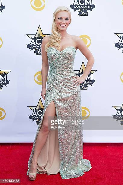 Recording artist Kayla Adamsi attends the 50th Academy Of Country Music Awards at ATT Stadium on April 19 2015 in Arlington Texas