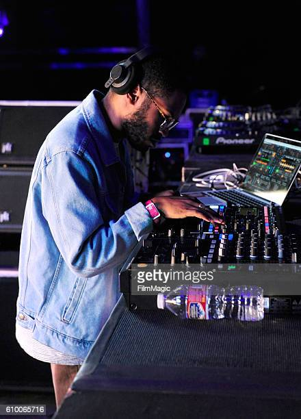 Recording artist Kaytranada performs on Troubadour Stage during day 1 of the 2016 Life Is Beautiful festival on September 23 2016 in Las Vegas Nevada
