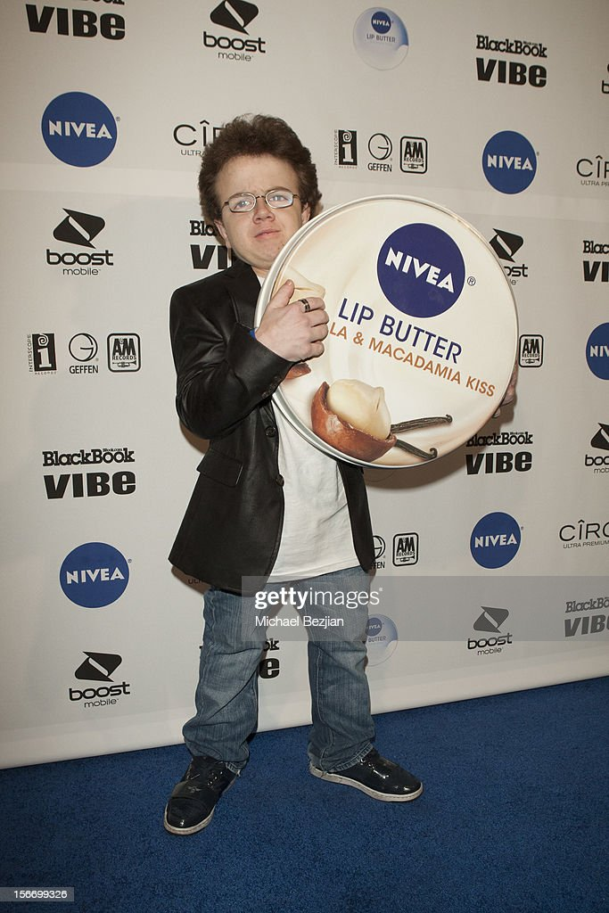Recording Artist Keenan Cahill Interscope Records AMA After Party Hosted By NIVEA Lip Butters Ciroc Ultra Premium Vodka Portraits Inside on November...