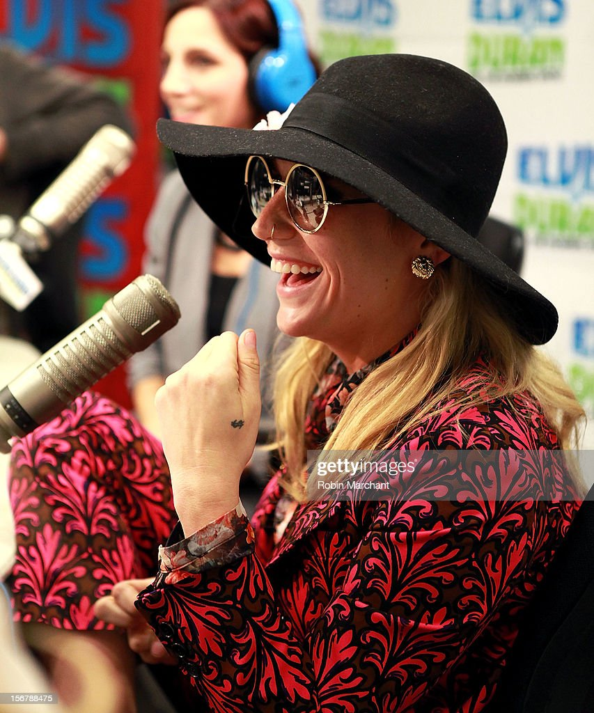 Recording artist Ke$ha visits at Z100 Studio on November 20, 2012 in New York City.