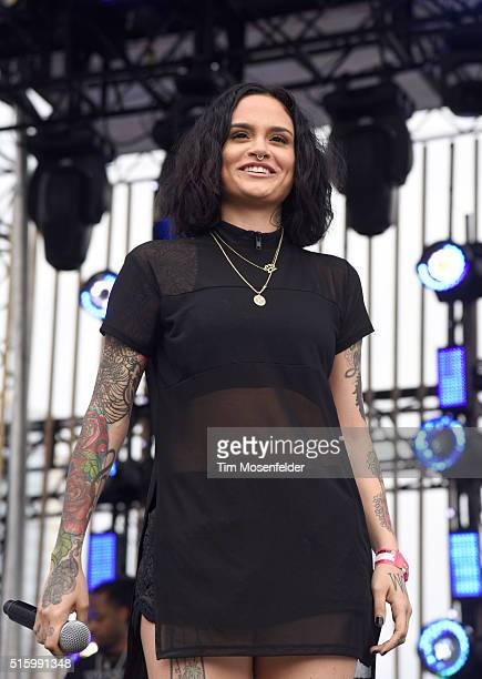 Recording artist Kehlani performs onstage during the 2016 MTV Woodies/10 For 16 on March 16 2016 in Austin Texas