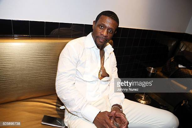 Recording artist Keith Sweat backstage at BB King Blues Club Grill on April 28 2016 in New York City